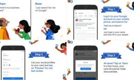 Virtual Visiting Card facility is launches by Google in India | How to Create it